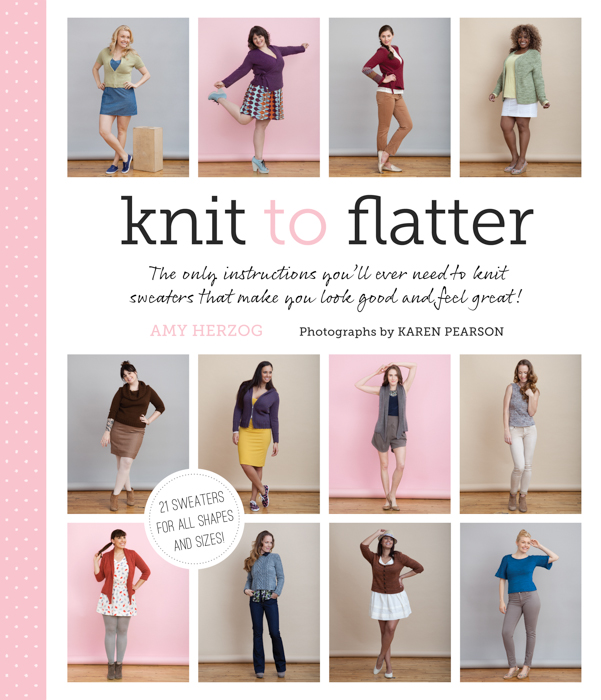 Knit to Flatter COVER