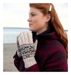 Fair Isle Style - Lumesadu Gloves beauty shot