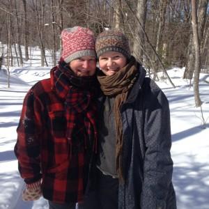 MJ & Gudrun in Vermont (1)